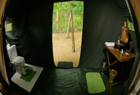 leopard trails camp bathroom