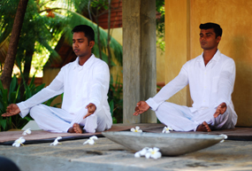 jetwing ayurveda pavilions meditation